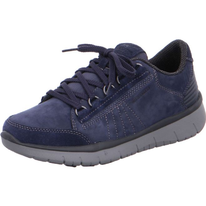 Allrounder by Mephisto 'LADIVA' Navy Blue Suede